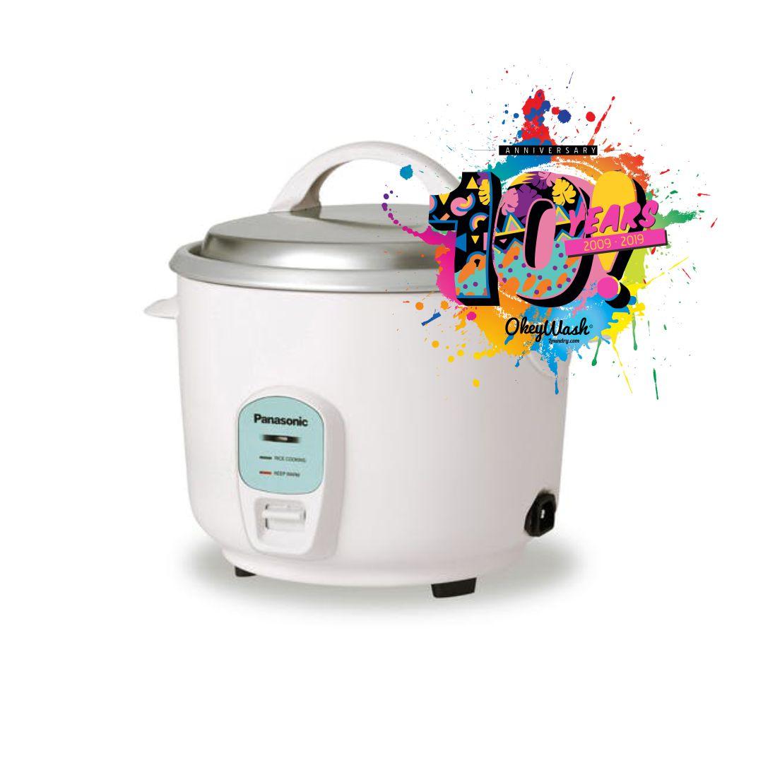 Hadiah Rice Cooker - Satu Dekade Okey Wash